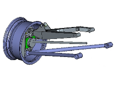 Virtual prototype ofracing car for T3category -DAKAR 2002